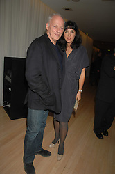 Musician DAVID GILMOUR and his wife POLLY SAMPSON at a party to celebrate the launch of the Suka restaurant at the Sanderson Hotel, berners Street, London on 15th March 2007.<br /><br />NON EXCLUSIVE - WORLD RIGHTS