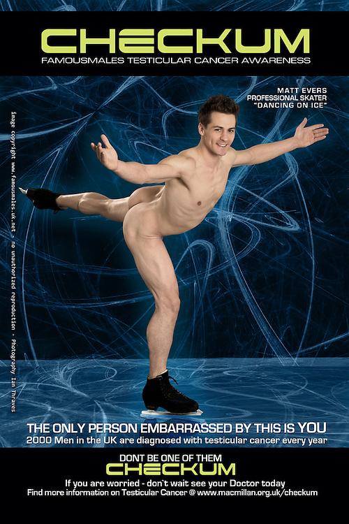Matt Evers (Dancing On Ice) - Checkum Testicular Awareness Campaign