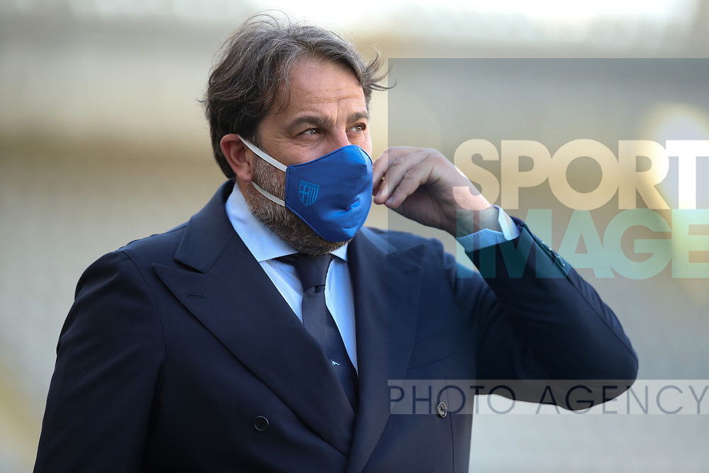 Parma Calcio's Director of Sport Daniele Fagginao during the Serie A match at Stadio Grande Torino, Turin. Picture date: 20th June 2020. Picture credit should read: Jonathan Moscrop/Sportimage