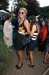 The HON.SOPHIA HESKETH at a party to celebrate Stephen Jones's 25 Years of Millinery held at Debenham House, 8 Addison Road, London W14 on 13th July 2006.<br />