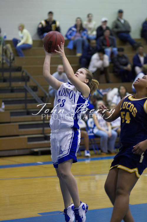 JuniorVarsity Girls Basketball..vs Fluvanna..January 31, 2005