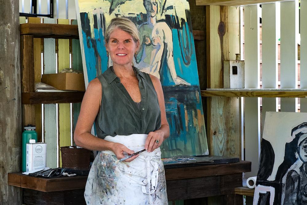 Painter Anne Darby Parker | August 27, 2016