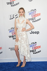 Amanda Seyfried at the 2018 Film Independent Spirit Awards held at Santa Monica Beach, USA on March 3, 2018.