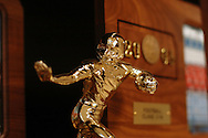 11/7/07 Smith Center, KS.Trophy case at Smith Center High School....(Chris Machian/Prairie Pixel Group)