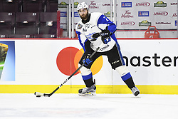 Bailey Webster of the Saint John Sea Dogs in the opening game of the 2017 MasterCard Memorial Cup against the Windsor Spitfires at the WFCU Centre in Windsor, ON on Friday May 19, 2017. Photo by Aaron Bell/CHL Images