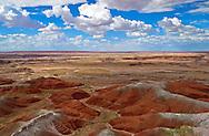 Painted Desert,Petrified Forest National Park, Arizona.