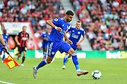 Leicester City Midfielder, Rachid Ghezzal (31) during the Premier League match between Bournemouth and Leicester City at the Vitality Stadium, Bournemouth, England on 15 September 2018.