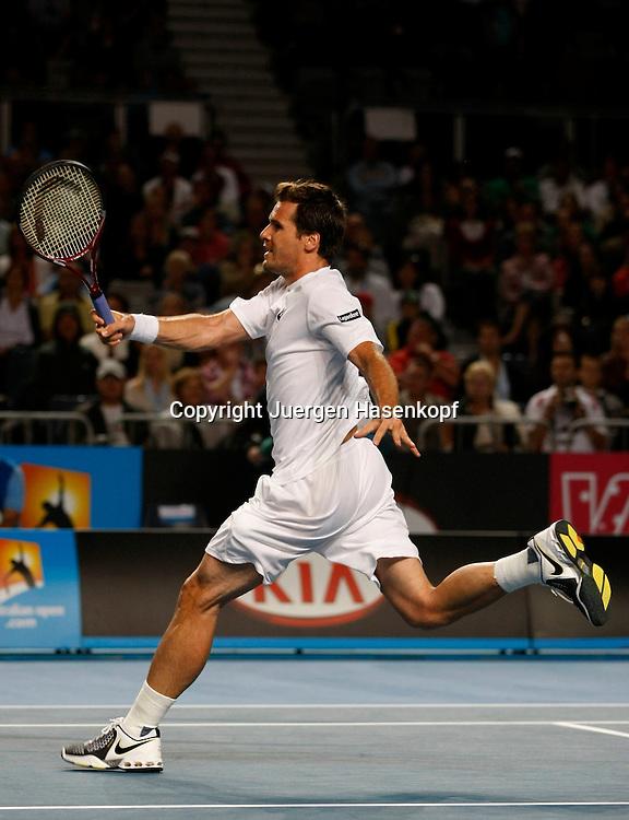 Australien, Melbourne, Sport, Tennis, Grand Slam Tournament, Melbourne Park, Australian Open 2010,..Tommy Haas (GER)..Foto: Juergen Hasenkopf..