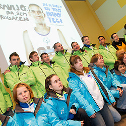 20130124: SLO, Special Olympics - Team Slovenia for Special Olympics World Games in PyeongChang