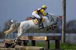 Clompen Sofie, (BEL), Mannequin G Z<br /> Nationale Finale AVEVE Eventing Cup Paarden <br /> Minderhout 2016<br /> © Hippo Foto - Dirk Caremans<br /> 24/04/16