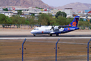 Eilat airport, Eilat, pop. 55,000, is Israel's southernmost city in the Southern District of Israel. Adjacent to the Egyptian city of Taba and Jordanian port city of Aqaba, Eilat is located at the northern tip of the Gulf of Aqaba, which is the eastern sleeve of the Red Sea.
