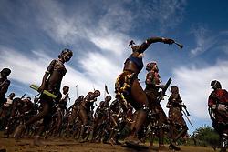Hamer Tribe-  Bull Jumping Ceremony