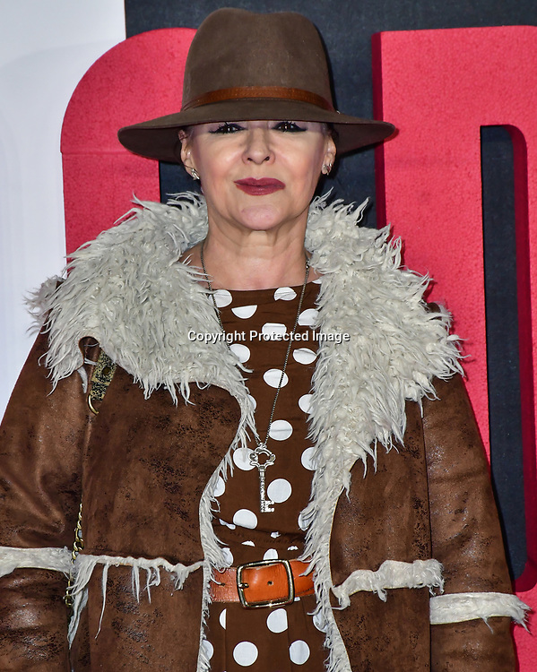 Frances Barber Arrivers at World Premiere of The Good Liar on 28 October 2019, at the BFI Southbank, London, UK.