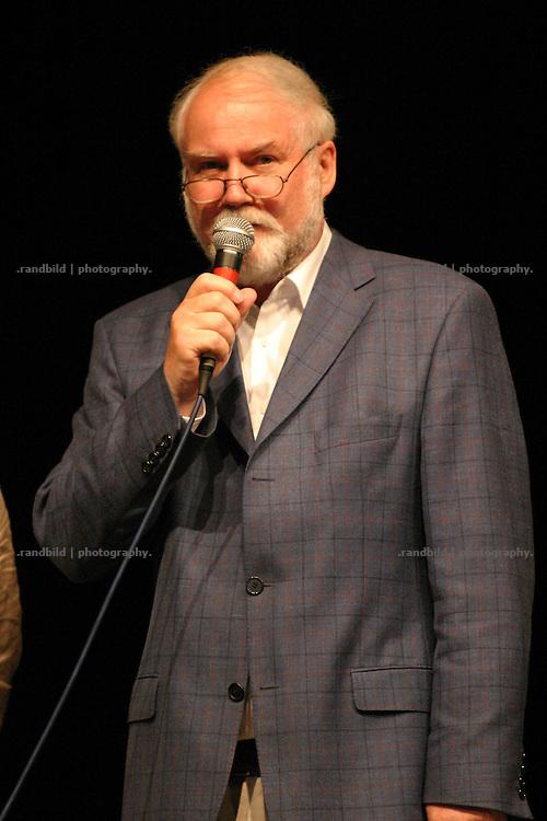 Klaus Wieczorek, Unternehmer aus Hitzacker während der Eröffung der Wellvita in Hitzacker