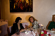 BIANCA JAGGER; VIOLETTE CAPROTTI; Christie's Gala. Casa Austria.  Amadeus Weekend. Salzburg. 22 August 2008.  *** Local Caption *** -DO NOT ARCHIVE-© Copyright Photograph by Dafydd Jones. 248 Clapham Rd. London SW9 0PZ. Tel 0207 820 0771. www.dafjones.com.