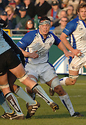 2005/06, Heineken Cup, Bath's Gareth Delve, moves in to join the action as  Bath Rugby vs Glasgow Warriors, The Rec, Bath, ENGLAND   © Peter Spurrier/Intersport Images - email images@intersport-images..   [Mandatory Credit, Peter Spurier/ Intersport Images].