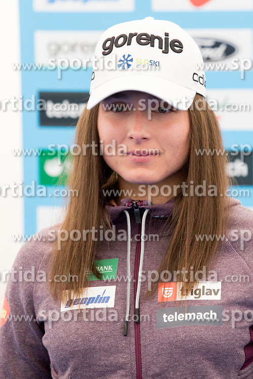 Eva Urevc of Cross Country Skiing team at media day of Ski Association of Slovenia before new winter season 2017/18, on October 4, 2017 in Sports center Pokljuka, Pokljuka, Slovenia. Photo by Urban Urbanc / Sportida