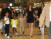 Jul 26, 2010 - Narita, Japan - <br /> <br /> Actress ANGELINA JOLIE arrives at the Narita International Airport in Japan to promote her latest movie 'Salt.' <br /> ©Exclusivepix