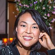 NLD/Amsterdam/20130921 - Uitreiking Awards, harpiste Lavinia Meijer