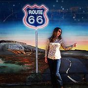 Route 66. Tucumcari, New Mexico.