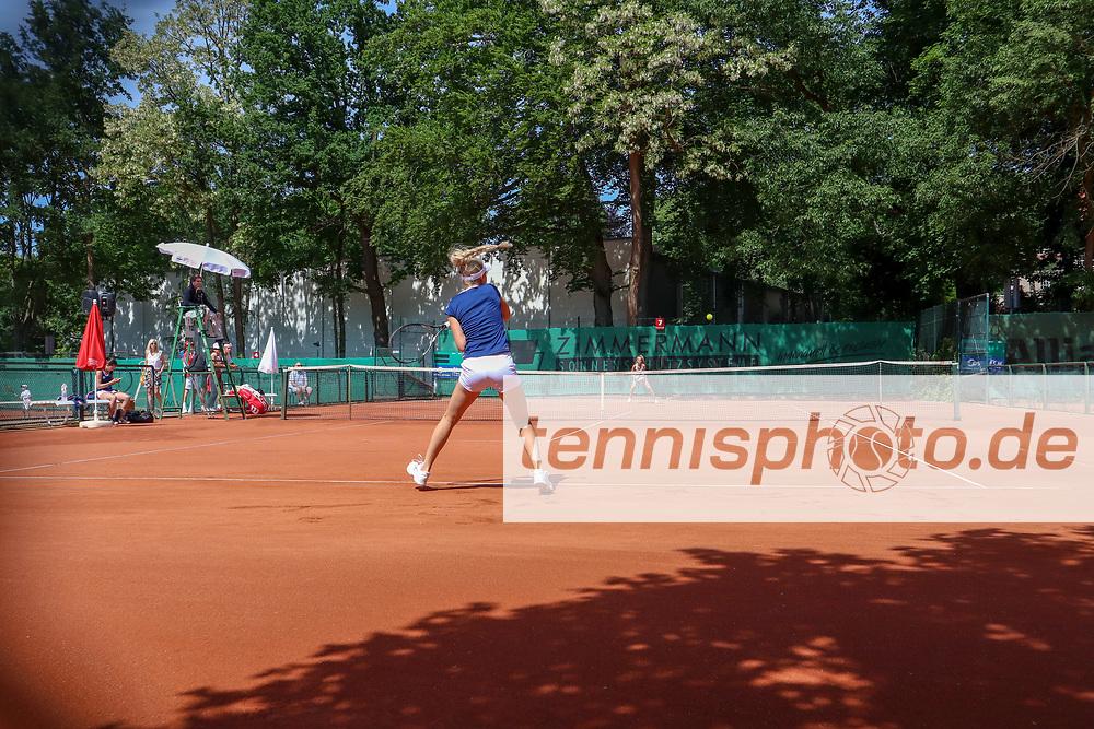 "Sarah Gronert GER (TC Bredeney Essen), 2. BL LTTC ""Rot-Weiß"" Berlin vs. TC Bredeney Essen, Berlin, 19.05.2018, Foto: Claudio Gärtner"