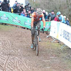 29-01-2017: Wielrennen: Wereldkampioenschap veldrijden: Luxemburg<br />BIELES (LUX) cyclocross  <br />Mathieu van der Poel