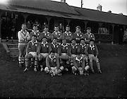 06/12/1961<br /> 12/06/1961<br /> 06 December 1961<br /> Schools Interprovincial Rugby: Leinster v Munster at Donnybrook. The Leinster Team.