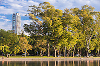 PARQUE TRES DE FEBRERO Y LAGO DE REGATAS, BOSQUES DE PALERMO, CIUDAD AUTONOMA DE BUENOS AIRES, ARGENTINA (PHOTO BY © MARCO GUOLI - ALL RIGHTS RESERVED. CONTACT THE AUTHOR FOR IMAGE REPRODUCTION)