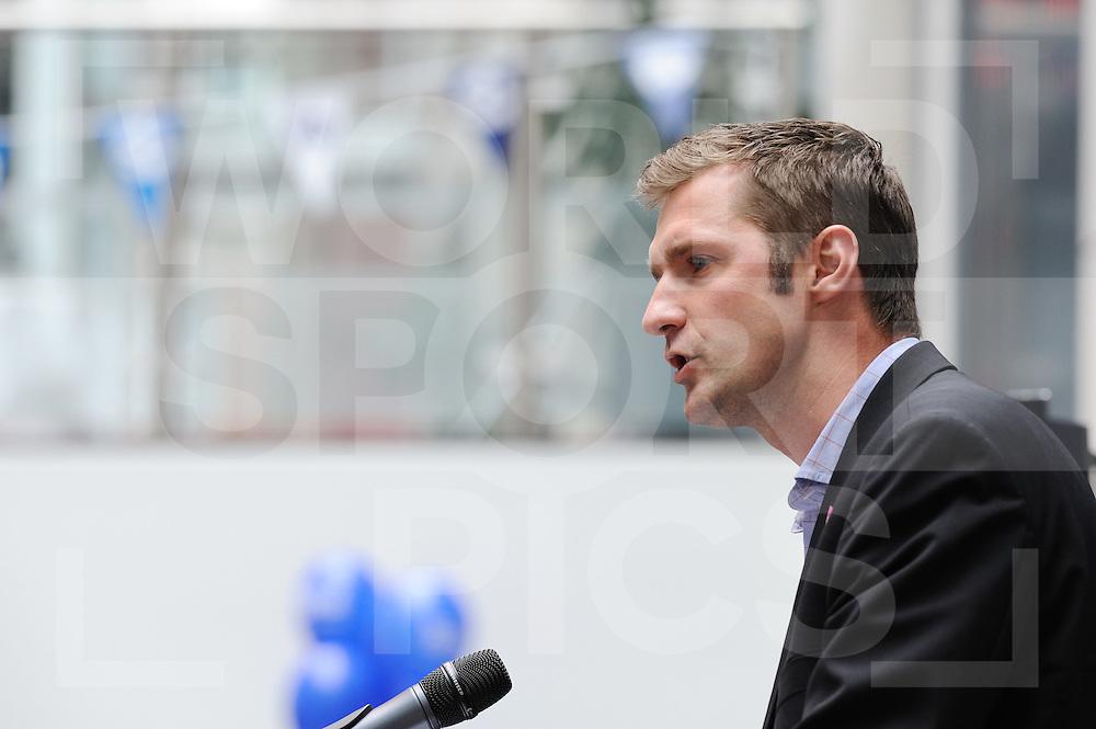 LONDON - Olympische Spelen 2012.Worldhockey presentation press conferentie.Simon Mason..FFU PRESS AGENCY COPYRIGHT FRANK UIJLENBROEK.