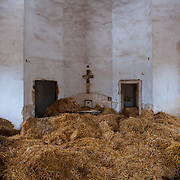 Puglia - Minervino. A church abandoned now it's a barn