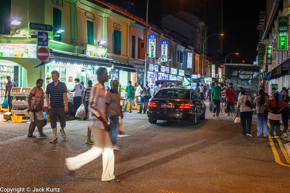 15 DECEMBER 2012 - SINGAPORE, SINGAPORE: People shop in the night market in the Little India section of Singapore.      PHOTO BY JACK KURTZ