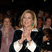 NLD/Amsterdam/20060409 -  Première Black Pinocchio, prinses Máxima Zorreguieta