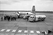 1963 - Refuelling of B.K.S. AVRO 748 at Dublin Airport.