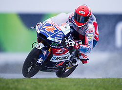 October 21, 2016 - Melbourne, Victoria, Australia - Italian rider Fabio Di Giannantonio (#4) of Gresini Racing Moto3 in action during the 2nd Moto3 Free Practice session at the 2016 Australian MotoGP held at Phillip Island, Australia. (Credit Image: © Theo Karanikos via ZUMA Wire)