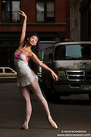 Cortlandt Alley Ballerina- New York City Dance Photography with Xiaoxiao Cao