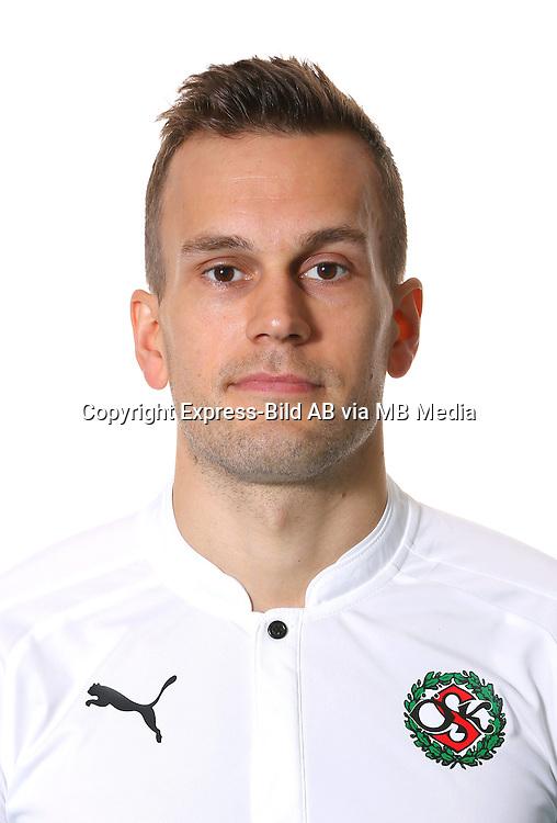 Logi Valgardsson<br /> Halvfigur<br /> @Leverans<br /> Allsvenskan 2016<br /> Fotboll