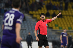 Referee Matej Jug in action during football match between NK Maribor and NK Celje in Round #24 of Prva liga Telekom Slovenije 2018/19, on March 30, 2019 in stadium Ljudski vrt, Maribor, Slovenia. Photo by Milos Vujinovic / Sportida