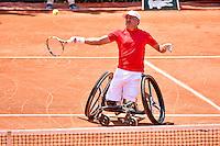 Stephane HOUDET - 05.06.2015 - Jour 13 - Roland Garros 2015<br />Photo : Dave Winter / Icon Sport