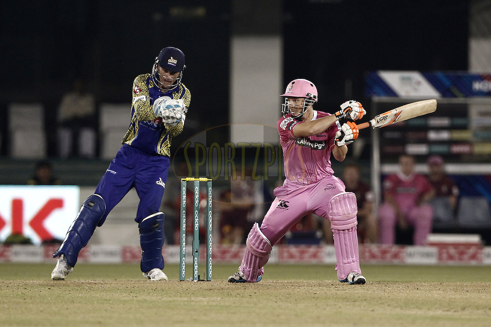 BJ Watling of the NORTHERN KNIGHTS during match 3 of the Oppo Champions League Twenty20 between the Cape Cobras and the Northern Knights held at the Chhattisgarh International Cricket Stadium, Raipur, India on the 19th September 2014<br /> <br /> Photo by:  Deepak Malik / Sportzpics/ CLT20<br /> <br /> <br /> Image use is subject to the terms and conditions as laid out by the BCCI/ CLT20.  The terms and conditions can be downloaded here:<br /> <br /> http://sportzpics.photoshelter.com/gallery/CLT20-Image-Terms-and-Conditions-2014/G0000IfNJn535VPU/C0000QhhKadWcjYs