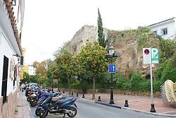 10.01.2012, Marbella, Spanien, ESP, Marbella im Focus, im Bild Reste der maurischen Stadtmauer in der Altstadt von Marbella, Andalusien, Spanien. EXPA Pictures © 2012, PhotoCredit: EXPA/ Eibner/ Andre Latendorf..***** ATTENTION - OUT OF GER *****