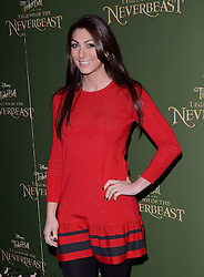 Luisa Zissmanl attends Tinkerbell and the Legend of the Neverbeast Gala Screening at Vue West End, Leicester Square  London on Sunday 7th December 2014