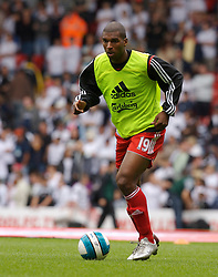 Liverpool, England - Saturday, September 1, 2007: Liverpool's Ryan Babel before the Premiership match against Derby County at Anfield. (Photo by David Rawcliffe/Propaganda)