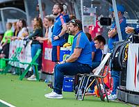 Den Bosch  -  bondscoach Max Caldas (Ned)    tijdens   de Pro League hockeywedstrijd heren, Nederland-Belgie (4-3).    COPYRIGHT KOEN SUYK