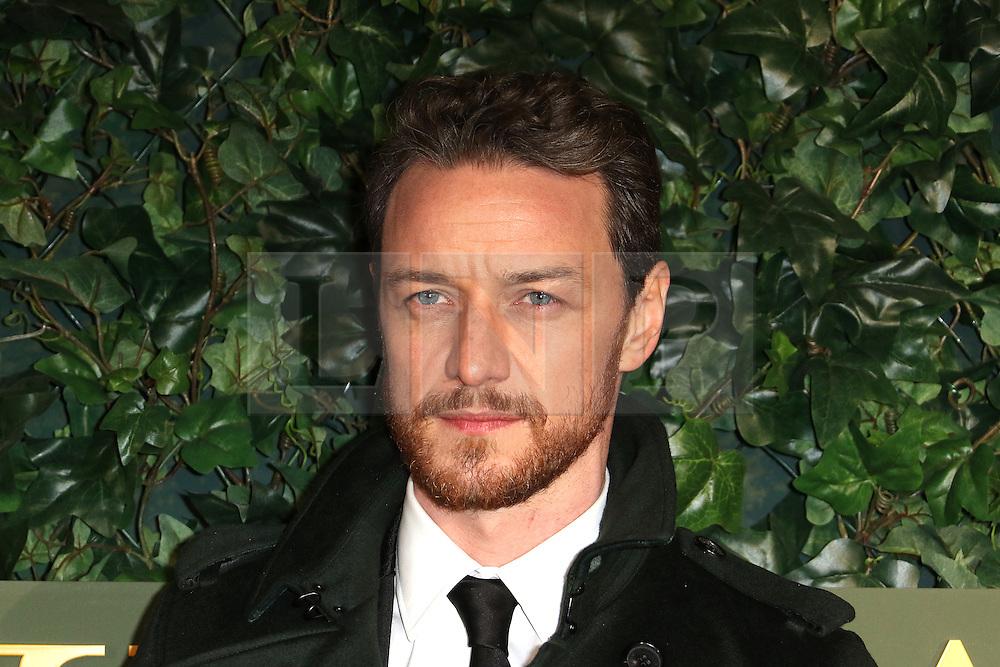 © Licensed to London News Pictures. 13/11/2016. London, UK, James McAvoy, Evening Standard Theatre Awards, Photo credit: Richard Goldschmidt/LNP
