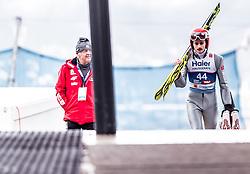 22.02.2019, Bergiselschanze, Innsbruck, AUT, FIS Weltmeisterschaften Ski Nordisch, Seefeld 2019, Skisprung, Herren, im Bild Richard Freitag (GER) // Richard Freitag of Germany during the men's Skijumping of FIS Nordic Ski World Championships 2019. Bergiselschanze in Innsbruck, Austria on 2019/02/22. EXPA Pictures © 2019, PhotoCredit: EXPA/ JFK