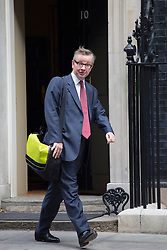 © licensed to London News Pictures. London, UK 11/09/2013. Secretary of State for Education, Michael Gove leaving Downing Street on Wednesday, September 11, 2013. Photo credit: Tolga Akmen/LNP