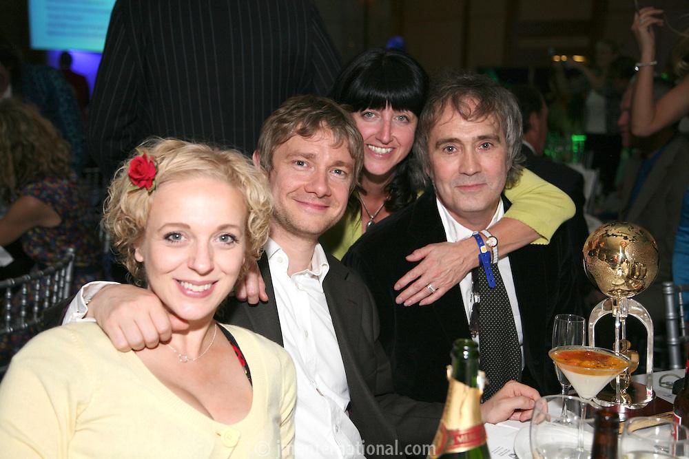 Amanda Abbington, Martin Freeman Nicky Weller and Russell Reader