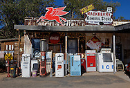 Hackberry General Store in Hackberry Arizona on Route 66. .A trip through parts of Route 66 from Southern California to Arizona.