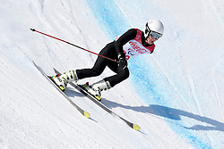 MIKUSHIN Alexey LW6/8-1 NPA competing in the Para Alpine Skiing Downhill at the PyeongChang2018 Winter Paralympic Games, South Korea