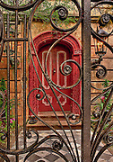 #8 Legare Street door with gate